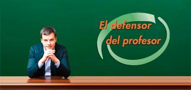 Servicios: Defensor del Profesor